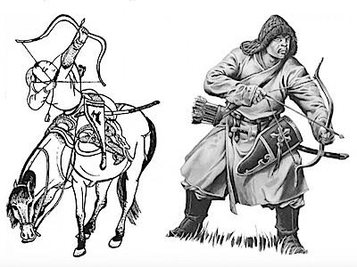 Глава 5.1. Монгольское завоевание Юго-Западной Сибири