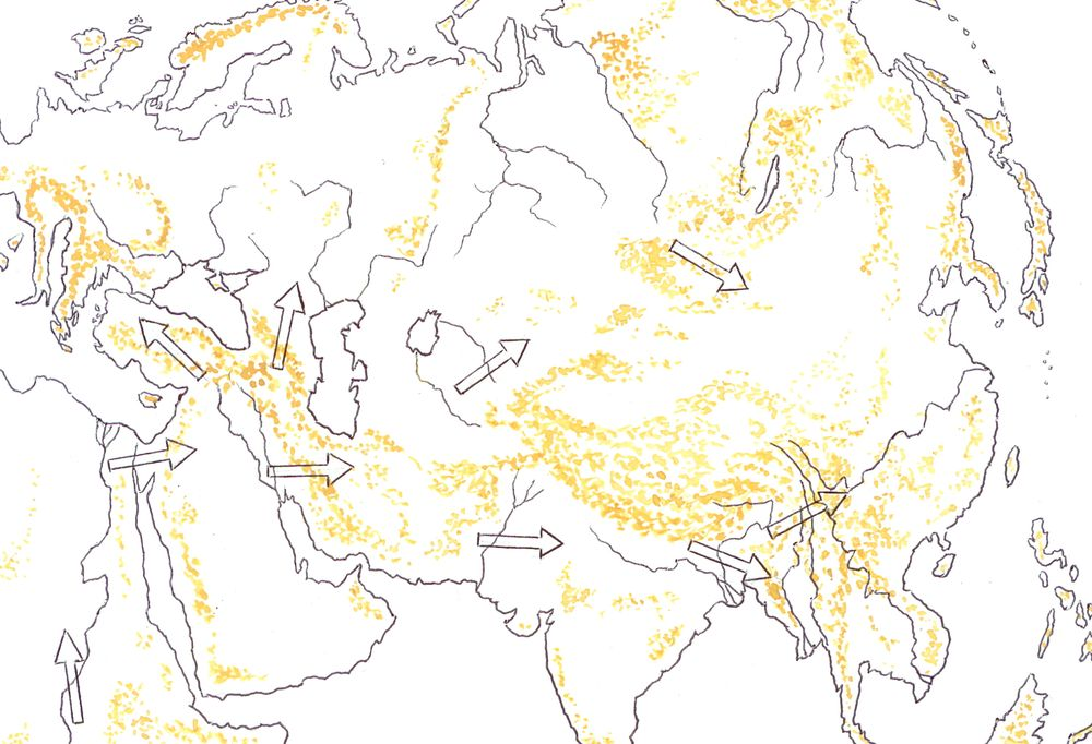 Первая миграционная волна древнего человека