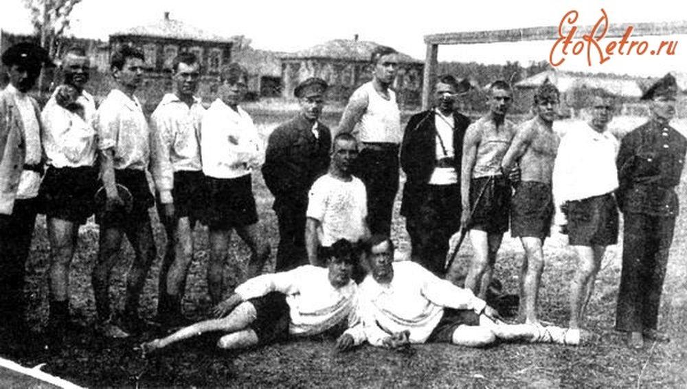 Первые спортсмены г. Шадринска. 1921 г.