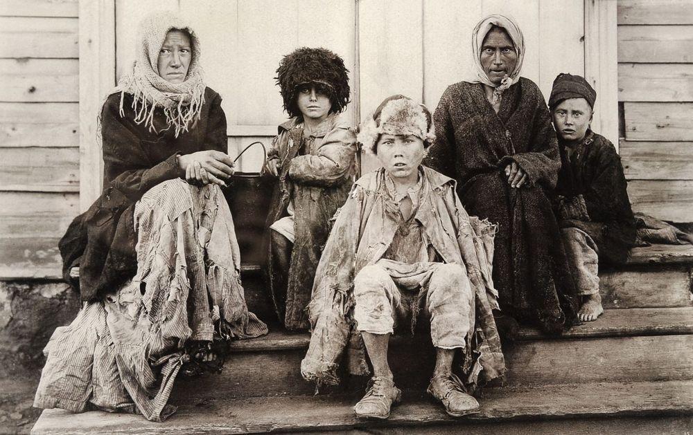 Голод. Челябинская губерния. Начало 1920-х гг.