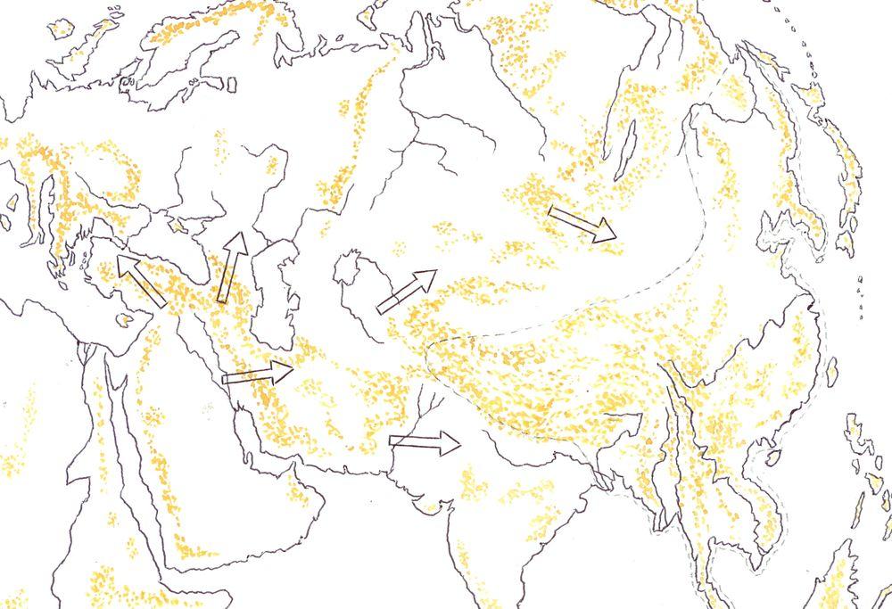 Вторая миграционная волна древнего человека