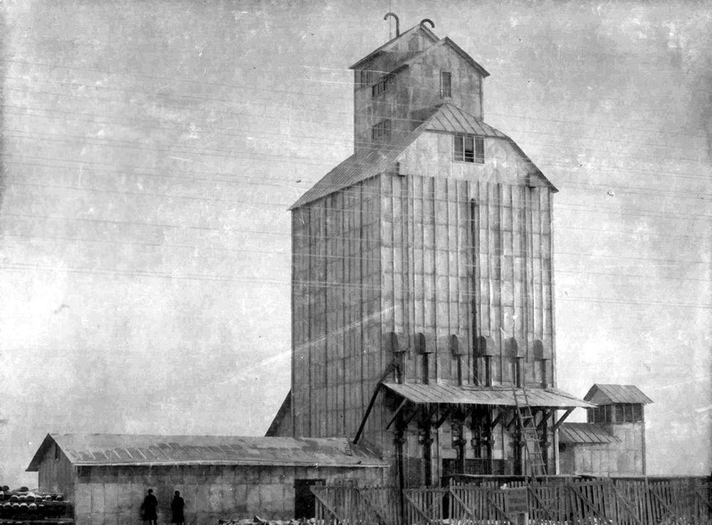 Зерновой элеватор. Варгаши. [1920-е гг.]