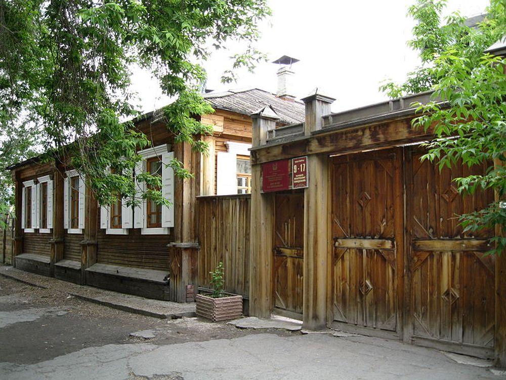 Дом декабриста Кюхельбекера в Кургане