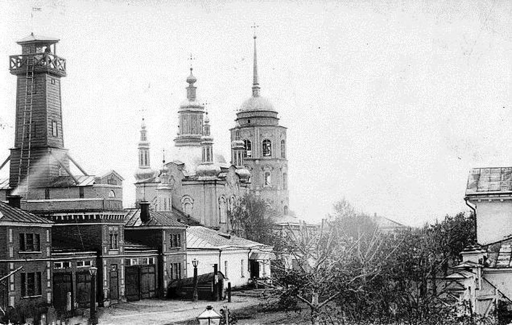 Центральная часть города Шадринска в н. ХХ века