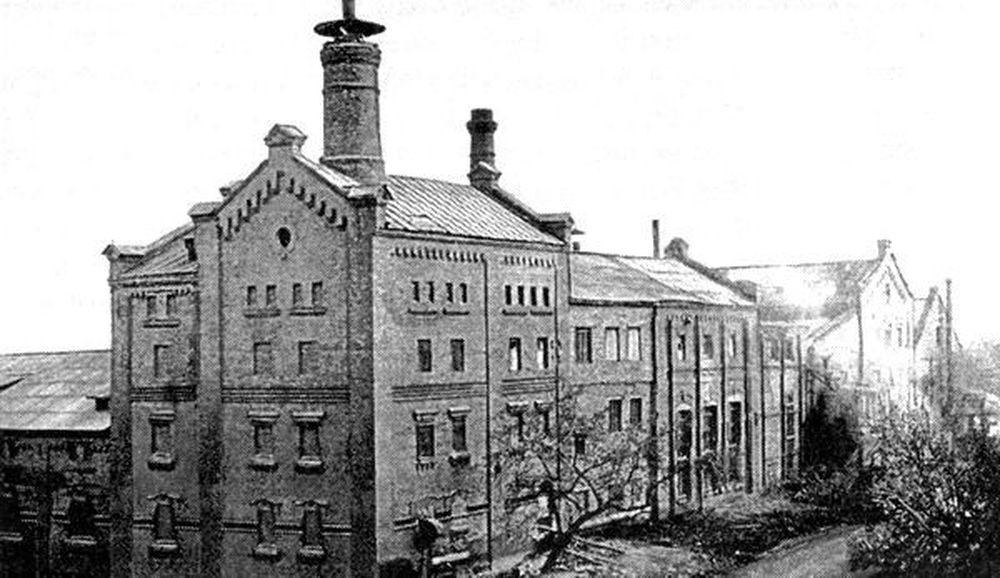 Пивоваренный завод В.А. Гампля.Фотография А.И.Кочешева. Начало ХХ века.