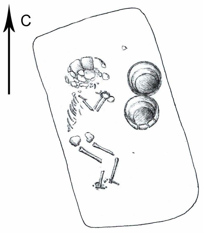 Погребение ребенка эпохи бронзы