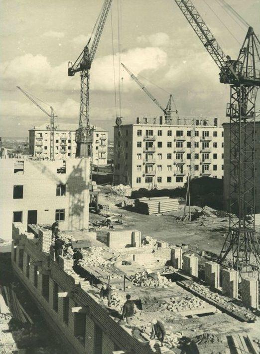 Новостройки Кургана. 1962 г.