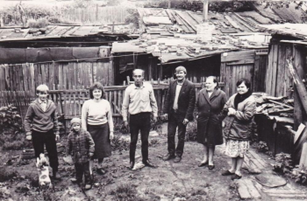 Жители посёлка «Копай» в г. Кургане.