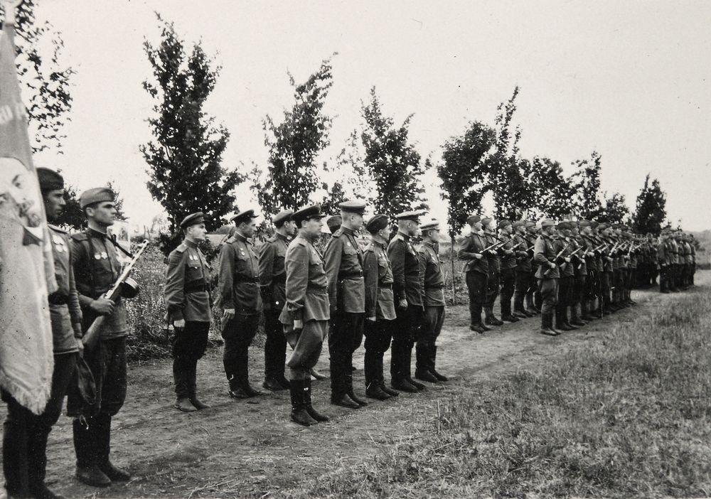 Австрия. 1945 г. Из альбома М.С. Шумилова.
