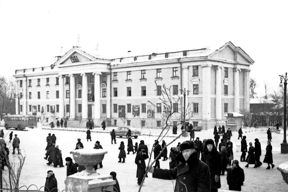 Дворец пионеров в Кургане. 1961 г.