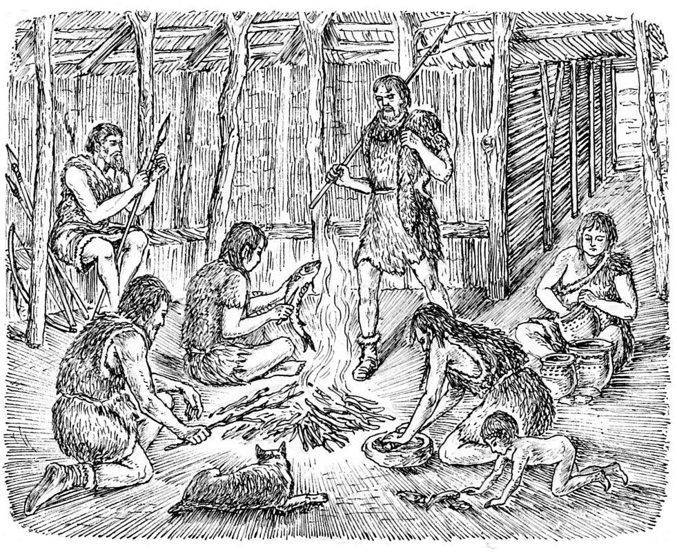 Жилище охотников и рыболовов