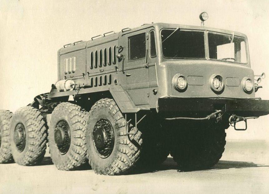 Транспортная машина, выпускавшаяся заводом Уралсельмаш. 1962 г.