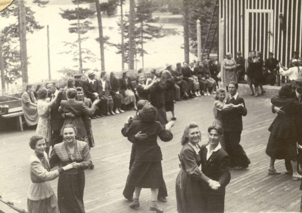 Танцы. 1930-е гг.