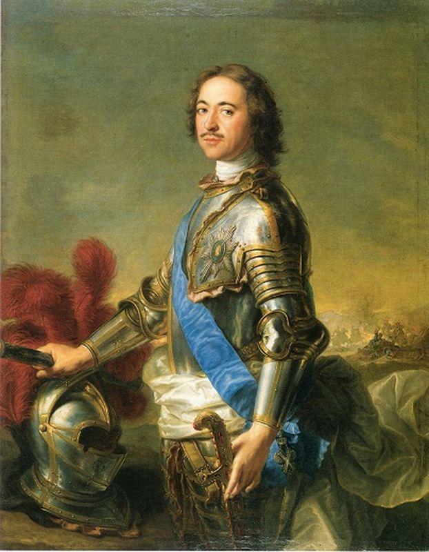 Петр I (Жан-Пьер Натье, 1717 г.)