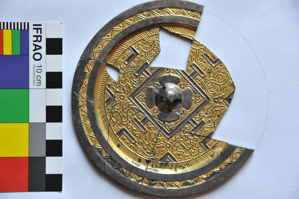 Зеркало периода китайский династии Хань из Приисетья