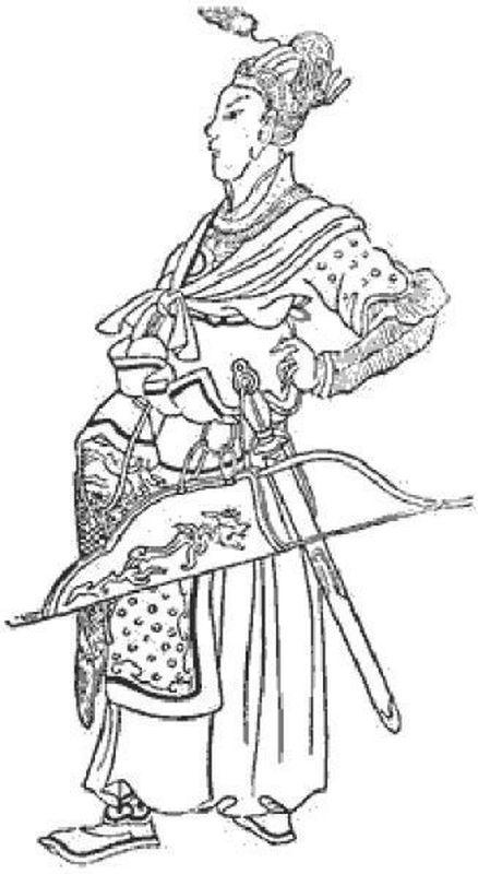 Бату (Батый). Китайский рисунок