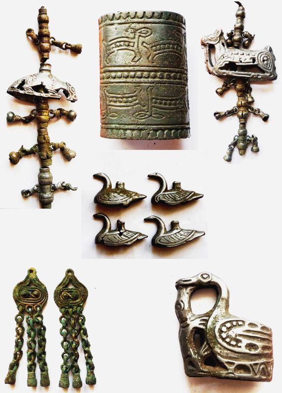 Угорские украшения IX-XII вв. в «пермском» зверином стиле